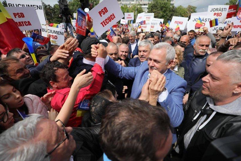Liviu Dragnea: Sper să câștigăm alegerile. Am auzit un zvon, dar nu cred în el, pentru că nu cred că au cum, ar vrea să încerce o fraudă la softul de numărare
