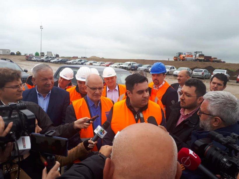 Ministrul Transporturilor, Răzvan Cuc: Lucrările la Autostrada Transilvania, secțiunea Biharia - Borș au început în fortă!!!