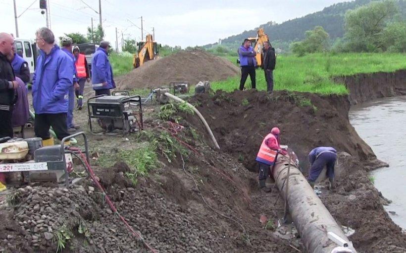 Avarie de proporții în Dej! 50.000 de oameni au rămas fără apă