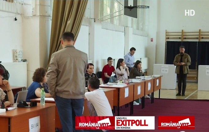 PREZENȚA la VOT ALEGERI EUROPARLAMENTARE 2019 și REFERENDUM 2019. Surpriză la ora 8