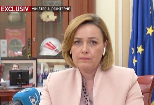 Carmen Dan, la Sinteza zilei: Mesajul lui Iohannis, unul electoral. Nu a indicat concret unde a greșit MAI