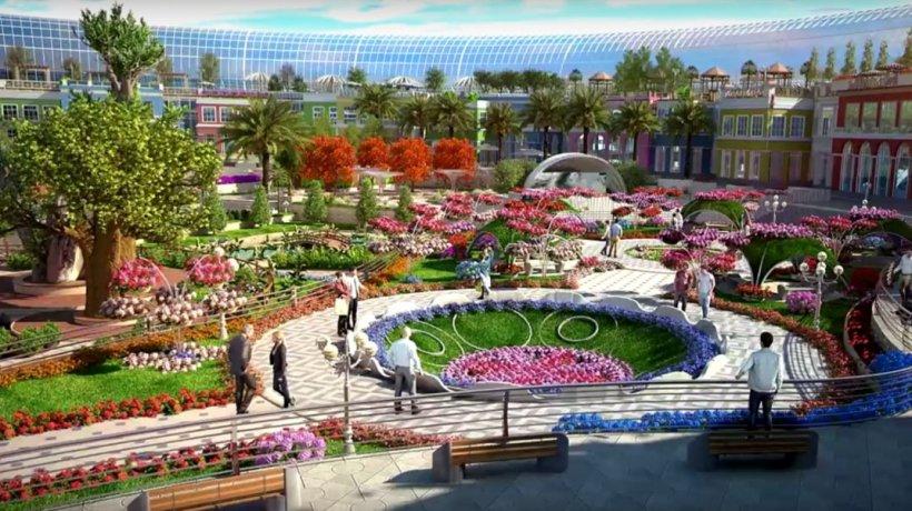Dubai surprinde din nou! Cum va arăta primul mall inspirat de natură - VIDEO