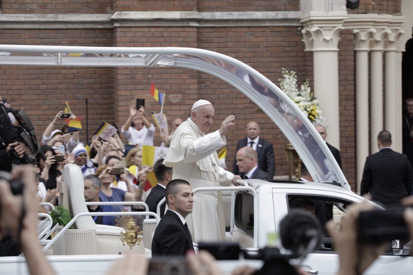 Papa Francisc, vizită în București. Restricțiile de trafic și programul mijloacelor de transport. Iată cum arată harta traseului Suveranului Pontif - FOTO