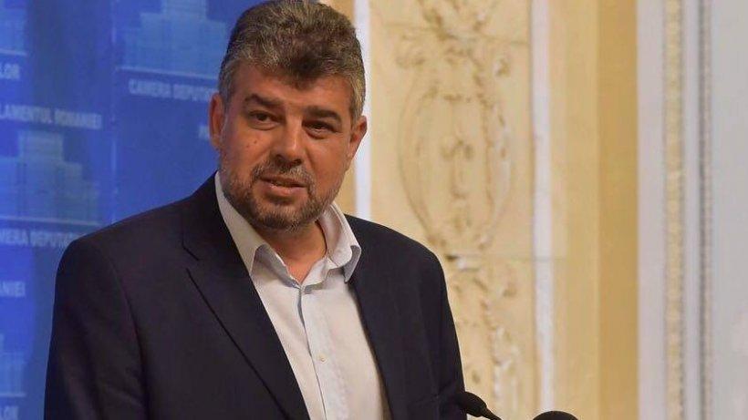 Întâlnire la Parlament între Marcel Ciolacu și fostul premier Sorin Grindeanu