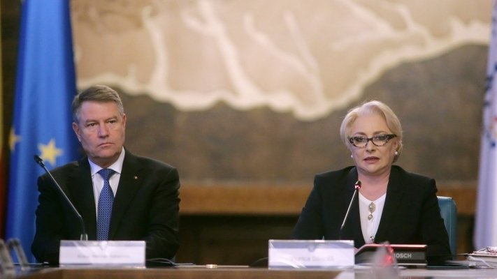 Viorica Dăncilă, discuții cu Klaus Iohannis la Palatul Cotroceni 16