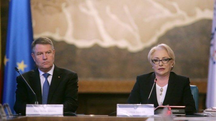 Viorica Dăncilă, discuții cu Klaus Iohannis la Palatul Cotroceni