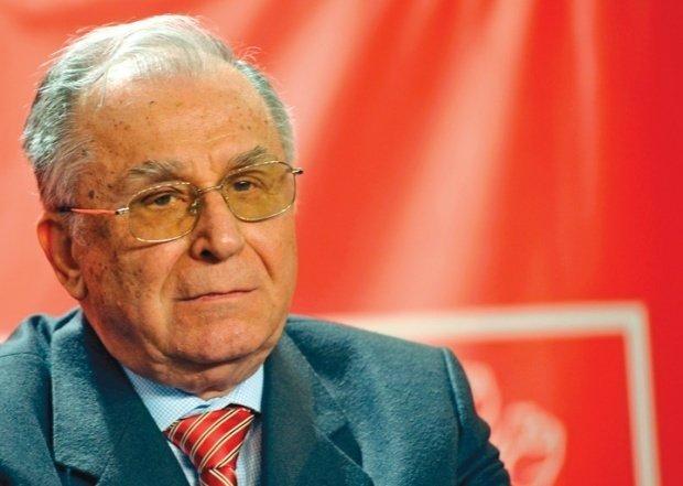 Ion Iliescu, internat la Spitalul Elias din București