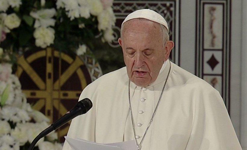 """Papa în România. Discursul integral al Papei Francisc la întâlnirea cu Patriarhul Daniel - """"Am venit ca frate pelerin"""""""