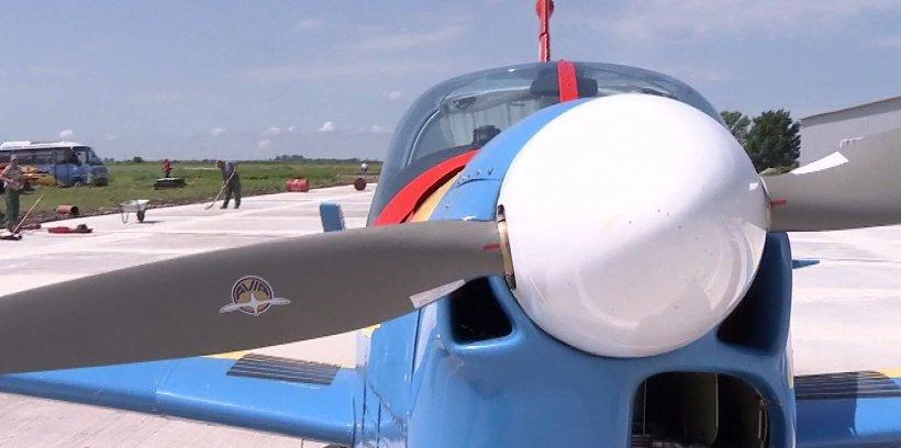 Spectacol aviatic, de ziua Copilului