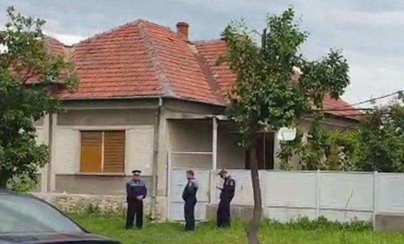 Detalii noi despre asasinul polițistului din Timiș. S-au găsit urme de sânge în casa în care s-ar fi ascuns criminalul