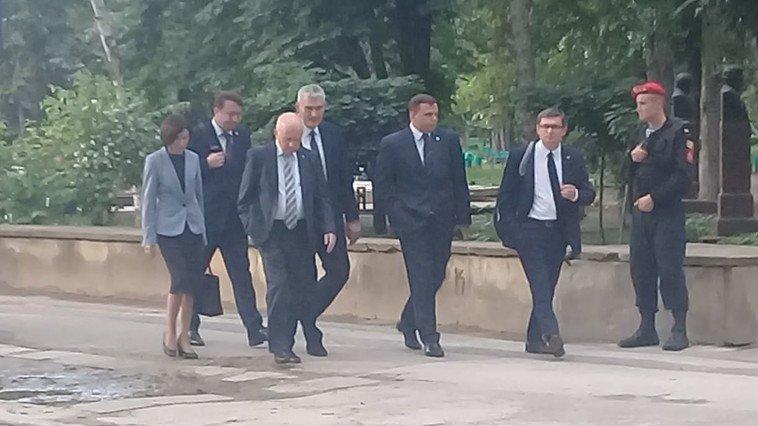 Liderii blocului ACUM din Republica Moldova, întâlnire cu un politician aflat pe lista neagră a Uniunii Europeane