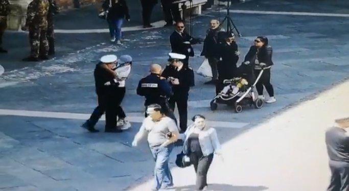 O româncă superbă, protagonista unui incident șocant în Italia(VIDEO)