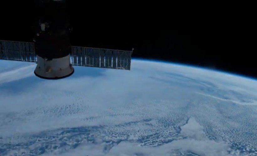 Imagini uimitoare cu Pământul, surprinse de un astronaut de pe Stația Spațială Internațională - VIDEO