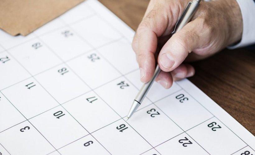 Zile libere legale 2019. Câte zile libere sunt în luna iunie