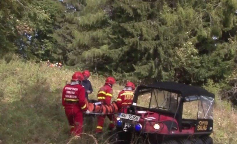 Cadavru găsit în Munții Bucegi. Probabil a fost mâncat de urs! E anchetă de amploare