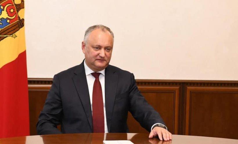 """Igor Dodon, după ce a fost suspendat din funcția de președinte: """"Îndemnăm poporul Moldovei la o mobilizare fără precedent și ieșirea la proteste pașnice"""""""