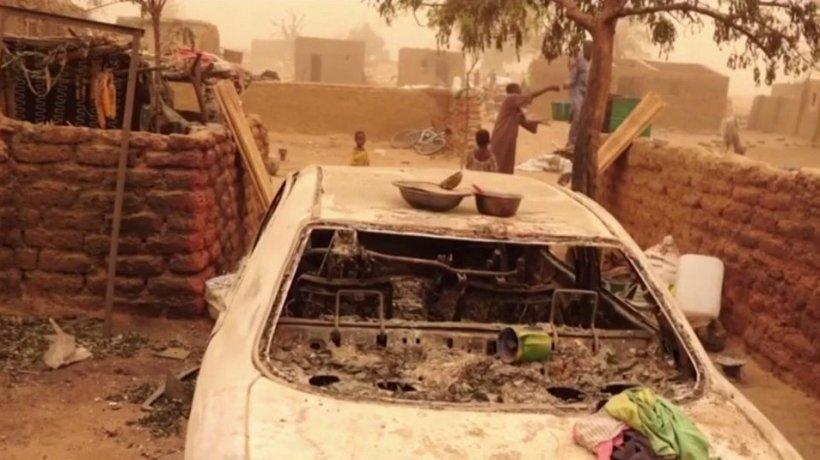 Aproape 100 de oameni, masacraţi în statul african Mali - VIDEO