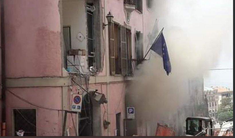 Explozie puternică în clădirea unei primării din Italia. Cel puțin zece răniți