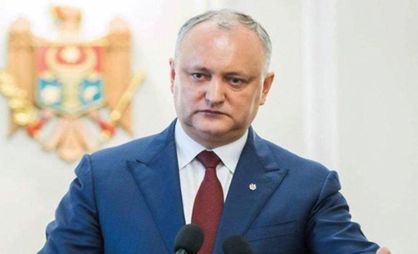 """Igor Dodon anunță posibile proteste """"pașnice"""""""