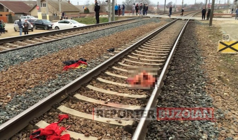Tragedie pe calea ferată. O femeie a fost călcată de tren, în Buzău