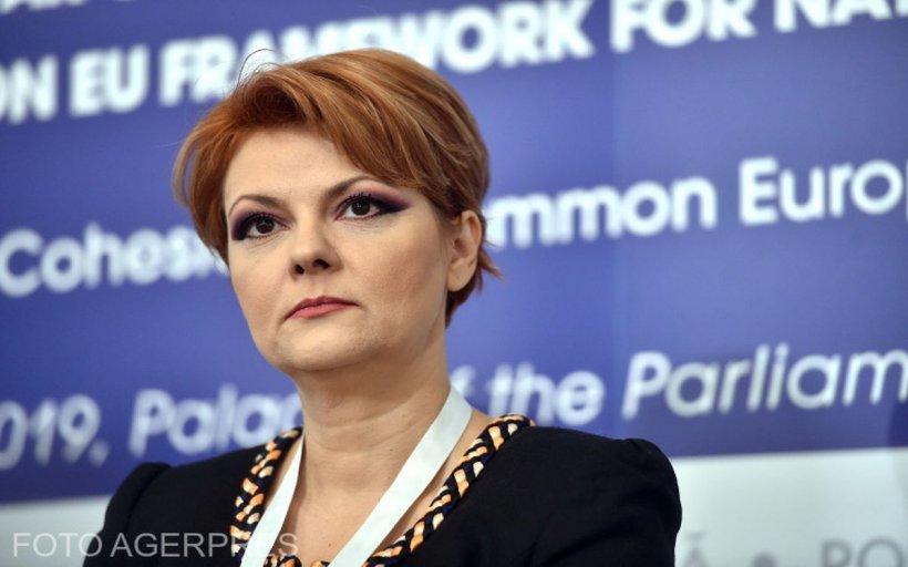 """Olguța Vasilescu: """"Sunt vicepreşedinte al partidului. Nu voi candida la o altă funcție"""""""