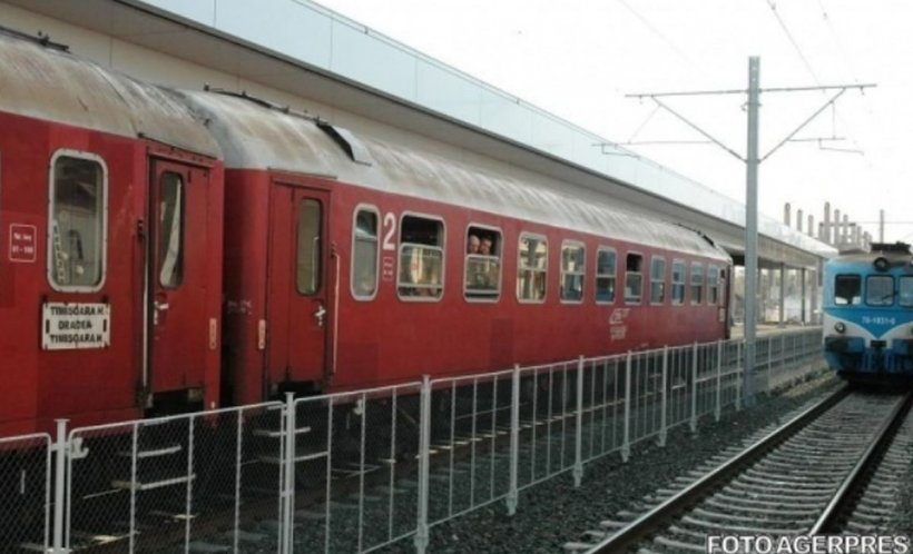 Tragedie într-o gară din Hunedoara. O fetiță de opt ani a fost lovită de o locomotivă. A murit pe loc