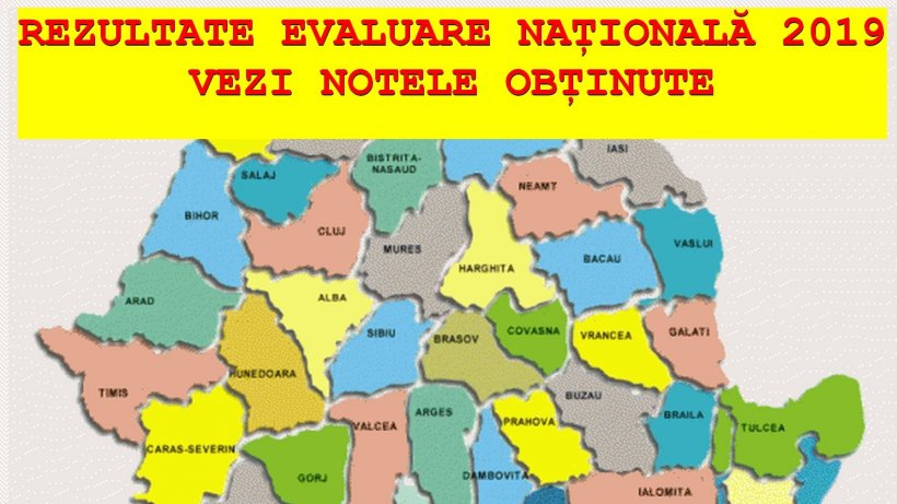 EDU.RO - REZULTATE EVALUARE NAȚIONALĂ 2019. Notele primite de elevi la EVALUARE în JUDEȚUL ALBA