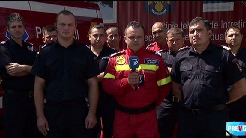 Eroii Zilei: Pompierii care au salvat doi copii