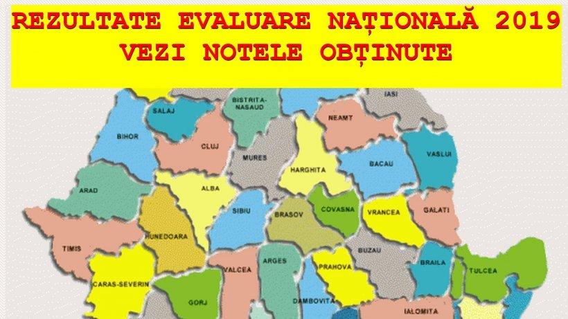 REZULTATE FINALE EVALUAREA NAȚIONALĂ 2019 NEAMȚ. Acestea sunt rezultatele FINALE din NEAMȚ