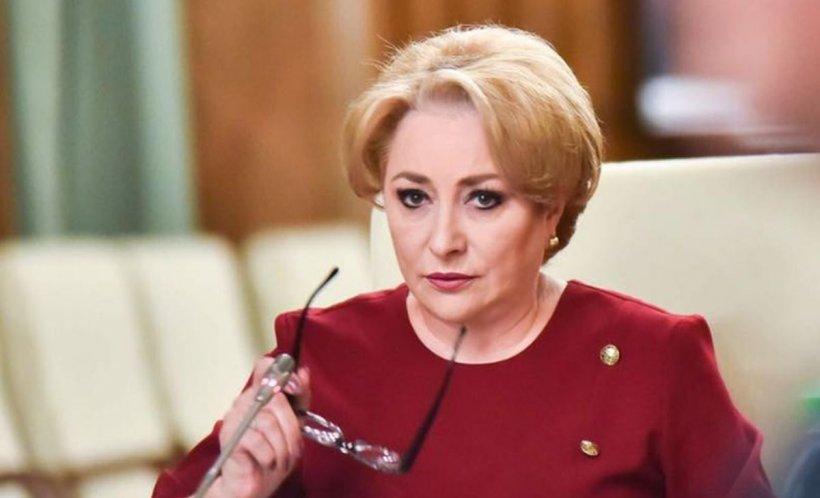 """Dăncilă: """"Legea Pensiilor e foarteașteptată, s-a lucrat foarte mult și așteptăm ca președintele Iohannis să accepte această lege"""""""