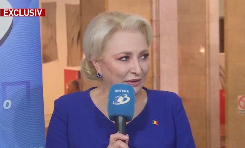 """Viorica Dăncilă, deranjată de acuzațiile lui Liviu Pleșoianu privind influența serviciilor secrete asupra ei: """"E normal ca un premier să fie informat"""""""