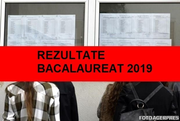 Rezultatele bac 2019