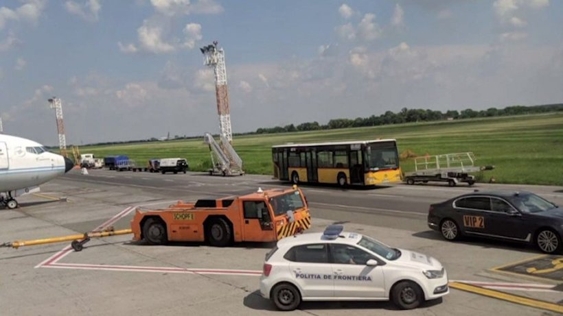 Accident pe Aeroportul Otopeni. Patru persoane au fost rănite 16