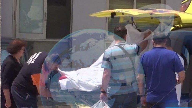 Primele imagini cu bărbatul rămas fără familie în Grecia. Mărturiile șocante ale omului