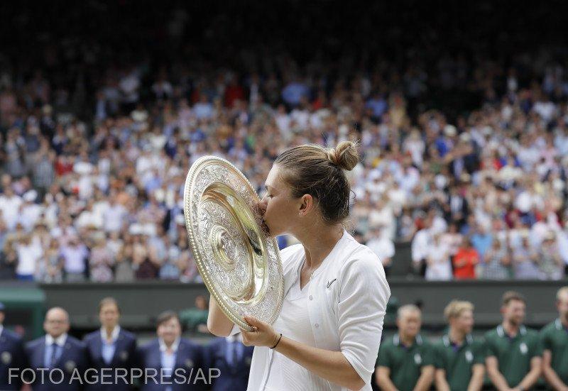 Simona Halep, victorie istorică la Wimbledon. Românca a reușit să câștige al doilea turneu de mare șlem VIDEO