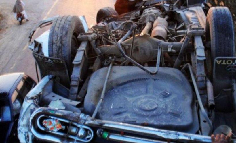 Circulație blocată pe DN1, după un accident grav