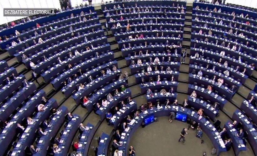 Apariție bizară în Parlamentul European. Cum a apărut un europarlementar în timpul unei ședințe - FOTO
