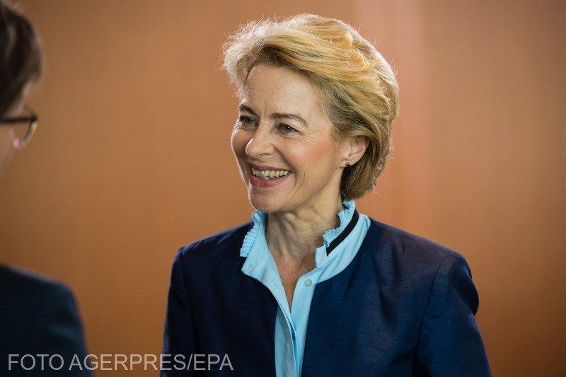 Ursula von der Leyen promite acţiune climatică, egalitate de gen, taxarea giganţilor IT şi un nou pact pe migraţie