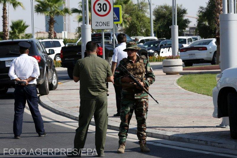 Atentat terorist lângă Biroul Consular al României din Irak 817