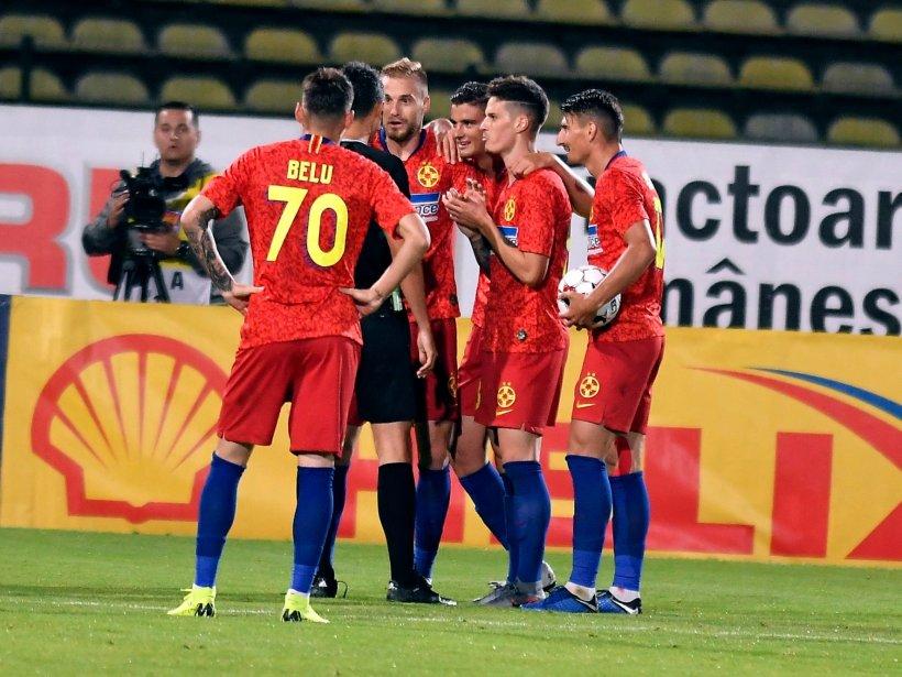 FCSB, calificare fără emoții în turul al doilea preliminar al Europa League