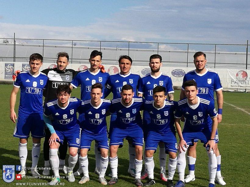 Universitatea Craiova, calificată în turul al doilea preliminar al Europa League