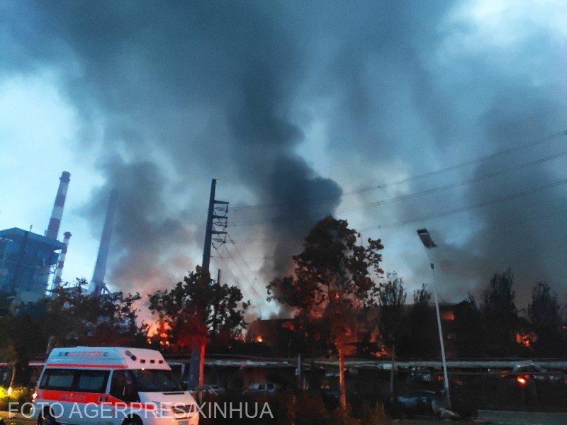 Doi morţi, 18 răniţi şi 12 dispăruţi după o explozie puternică într-o uzină de gaz din China