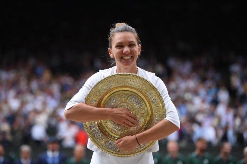 Simona Halep, regina Wimbledon, a adus trofeul la Constanța