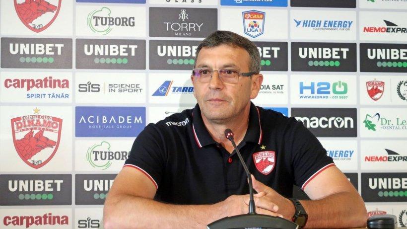 Antrenorul echipei Dinamo. Eugen Neagoe, este în stare stabilă după ce a făcut infarct în timpul meciului