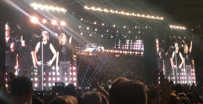 Concertul lui Bon Jovi la București, cu bune și rele: ca la români