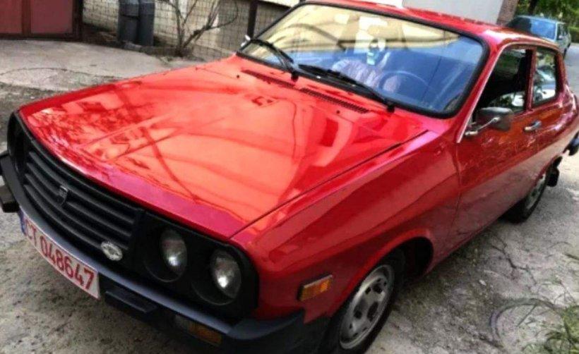 Dacia 1410 vândută cu 16.500 de euro. Are doar 800 de kilometri parcurşi