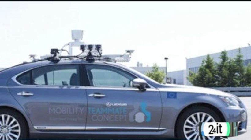 Teste cu maşina fără şofer în Europa