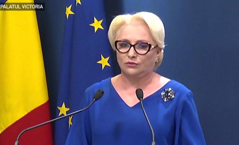 """Viorica Dăncilă: """"Pe mine, ca femeie și ca mamă, ceea ce s-a întâmplat la Caracal m-a zdruncinat"""""""