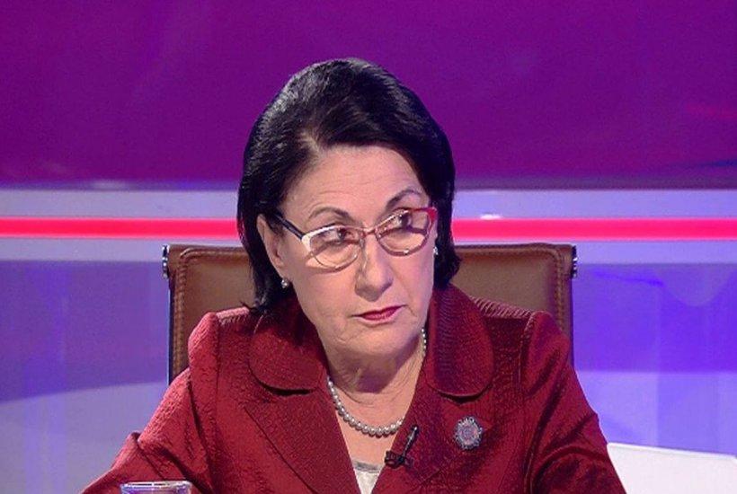 """Ecaterina Andronescu, despre cazul Caracal: """"Eu am învăţat de acasă să nu mă urc în nicio maşină străină"""""""