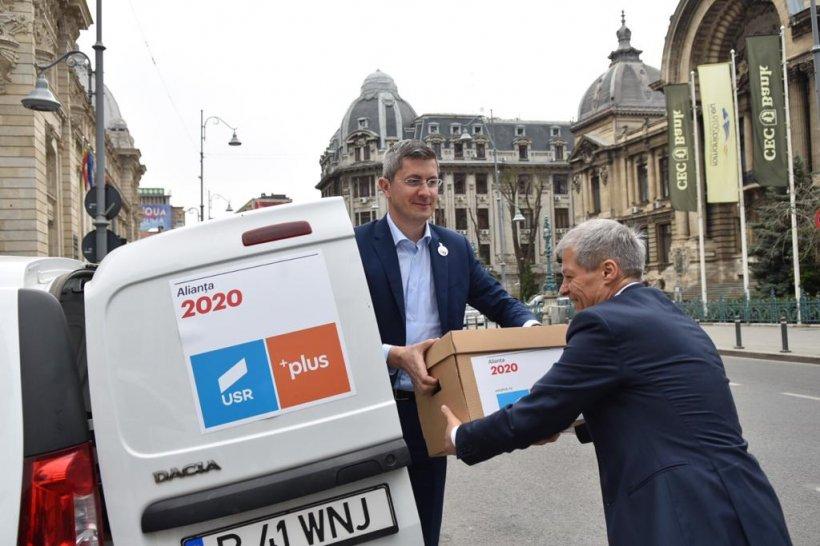 Barna și Cioloș anunță continuarea alianței USR-PLUS